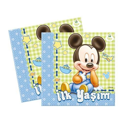 1 Yaş Baby Mickey Peçete