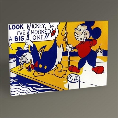 Tablo 360 Roy Lichtenstein Look Mickey Tablo 45X30