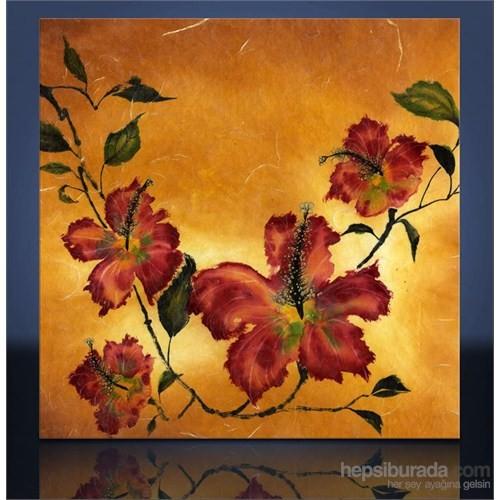 Çiçek Kanvas Tablo