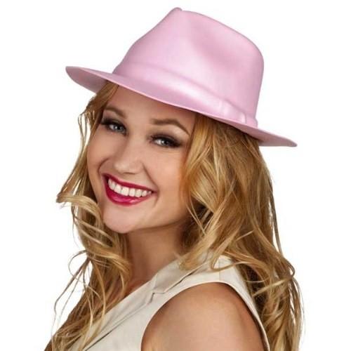 Parti Paketi Pembe Gangster Şapkası