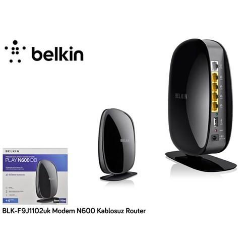 Belkin Blk-F9j1102uk Modem N600 Kablosuz Router