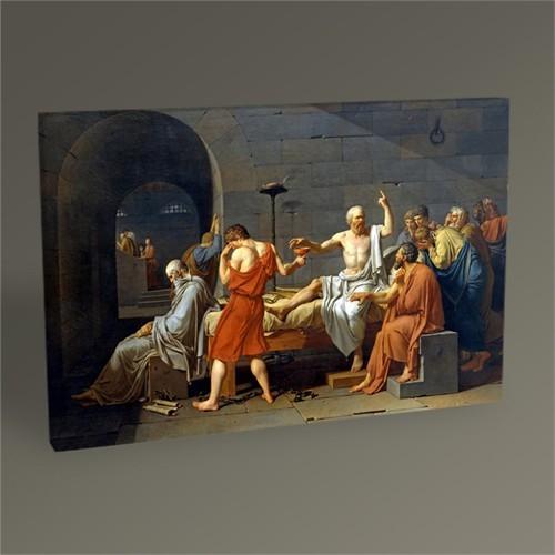 Tablo 360 Jacques Louis David The Death Of Socrates Tablo 45X30