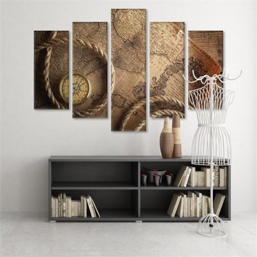 Dekoratif 5 Parçalı Kanvas Tablo-5K-Hb061015-339