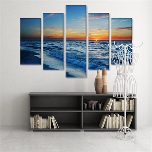 Dekoratif 5 Parçalı Kanvas Tablo-5K-Hb061015-307