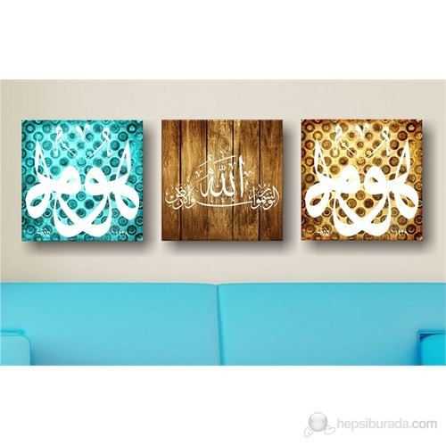 Arte İslami Kanvas Tablo