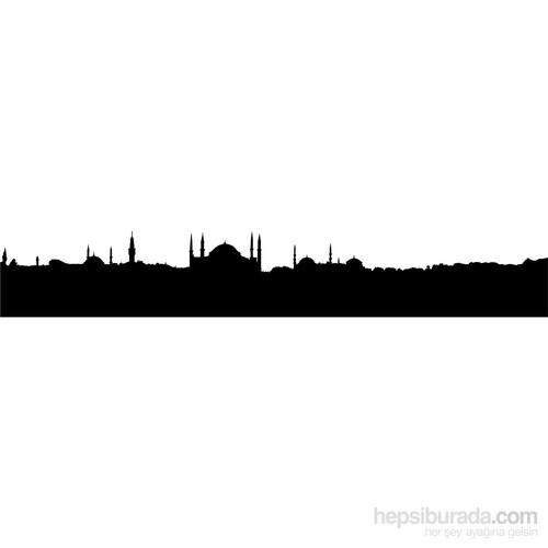 Sticker Masters İstanbul Siluet Duvar Sticker 11