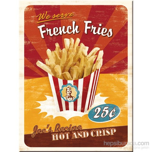 French Fries Magnet