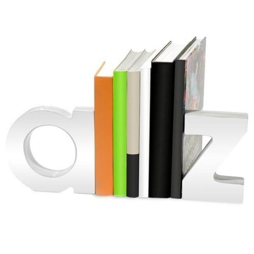 Nektar 23401 Kitap Tutucu Az Seramik Beyaz