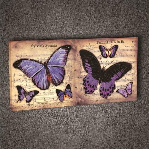 Artmoda - Kabartmalı Kelebek Tablo