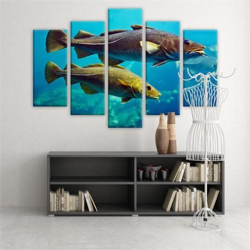 Dekoratif 5 Parçalı Kanvas Tablo-5K-Hb061015-109
