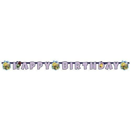 Arı Maya Happy Birthday Banner