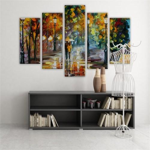 Dekoratif 5 Parçalı Kanvas Tablo-5K-Hb061015-175