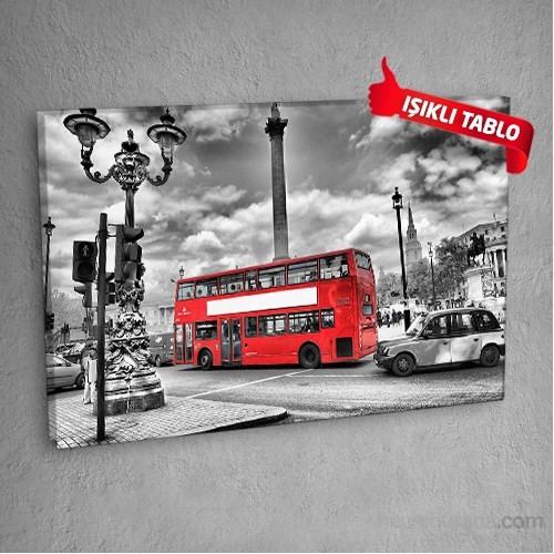 Londra-M6541- Led Işıklı Kanvas Tablo 50X70 Cm