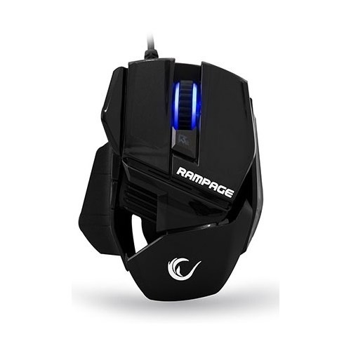 Everest Rampage SMX-77 Usb Siyah 2000dpi Gaming Mouse