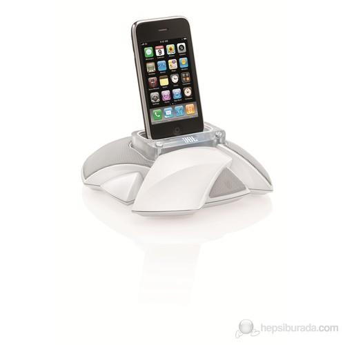 JBL On Stage Micro III iPhone & iPod Docking Hoparlör (Beyaz)