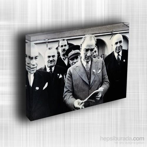 Doku Canvas Baskı Atatürk Atge-087/ 50*50