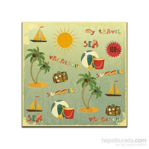 Dolce Home Retro Summer Tablo 24