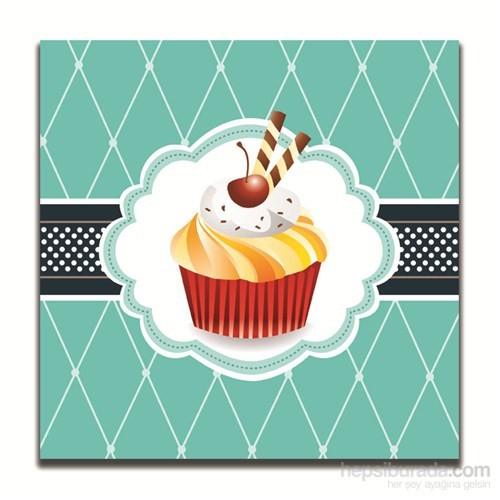 Dolce Home Dekoratif Cupcake Tablosu