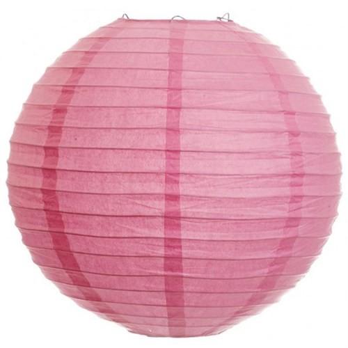 Pandoli Çin Feneri Asma Süs Bebek Pembesi Renk 35 Cm