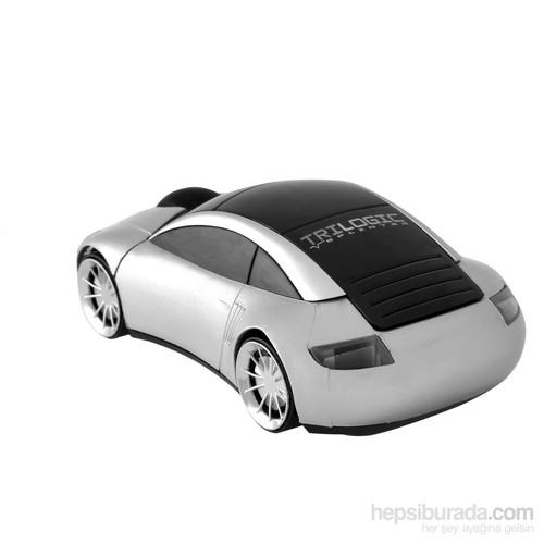 Trilogic M20 2.4GHz 3D Gümüş Nano Kablosuz Araba Mouse