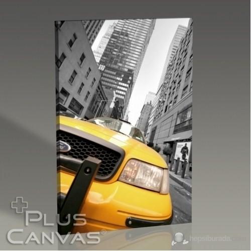Pluscanvas - New York - Yellow Cab Iı Tablo