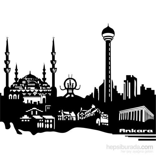 Sticker Masters Ankara Siluet Duvar Sticker 2