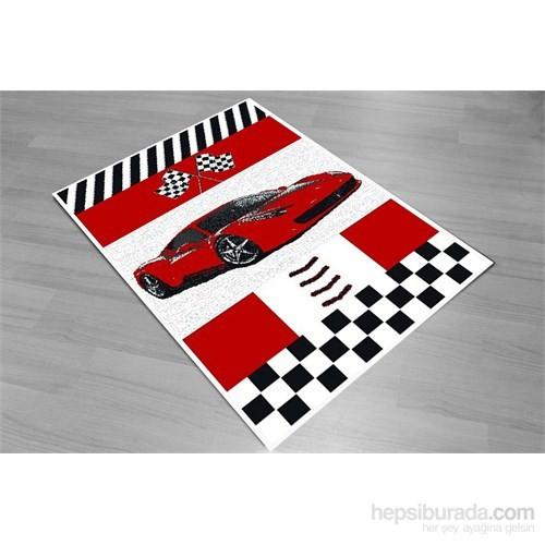 Karmen Car Race Çocuk Halısı 120X180