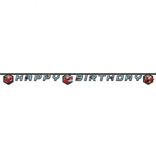 Spiderman Happy Birthday Banner