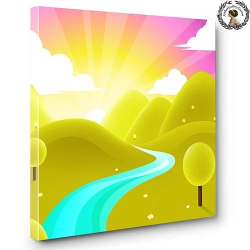 Artred Gallery 60X60Çocuk Odası Işıklı Tablo - 4