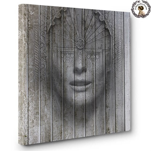 Artred Gallery Soyut Kadın 60X60 Tablo