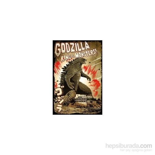 Maxi Poster Godzilla King Of The Monsters