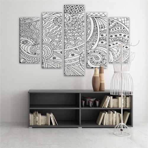 Dekoratif 5 Parçalı Kanvas Tablo-5K-Hb061015-248