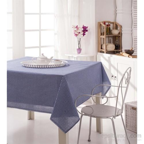 Enlora Home Masa Örtüsü Piti Mavi