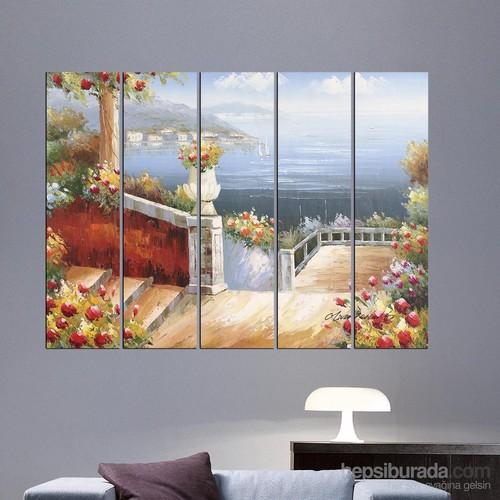 Dekorjinal 5 Parçalı Dekoratif Tablo Vsrm024