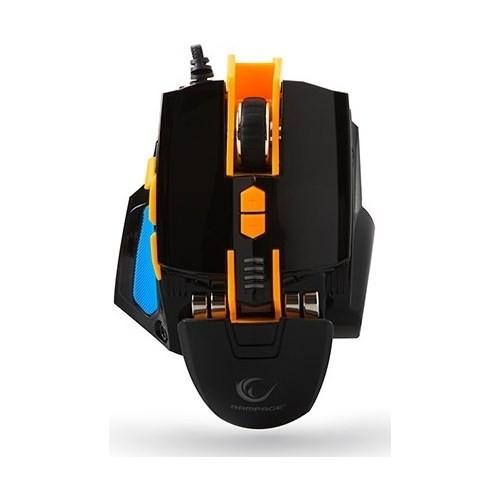 Everest Rampage SMX-R4 Usb Siyah 4800 Dpi Makrolu Oyuncu Mouse