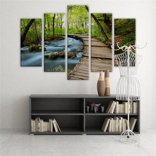 Dekoratif 5 Parçalı Kanvas Tablo-5K-Hb061015-209