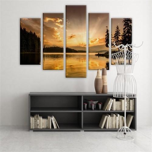 Dekoratif 5 Parçalı Kanvas Tablo-5K-Hb061015-214