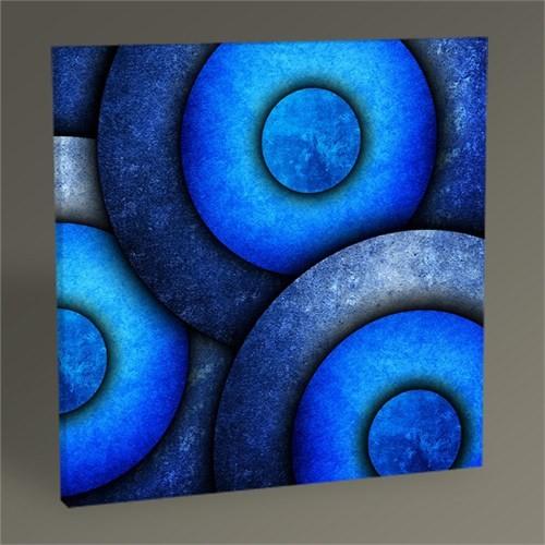 Tablo 360 Mavi Halkalar Tablo 30X30