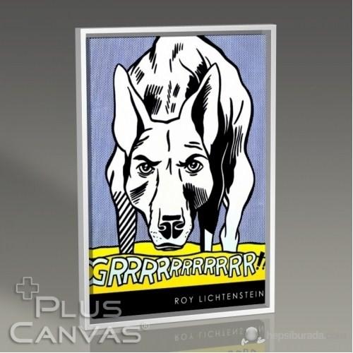 Pluscanvas - Roy Lichtenstein - Grrr Tablo