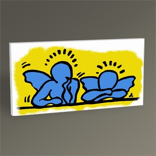 Tablo 360 Keith Haring Angels 60X30