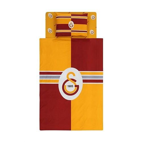 Taç Galatasaray Logo Tek Kişilik Nevresim Takımı