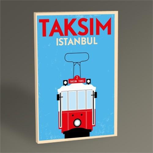 Tablo 360 İstanbul Taksim Tramvay Tablo 45X30