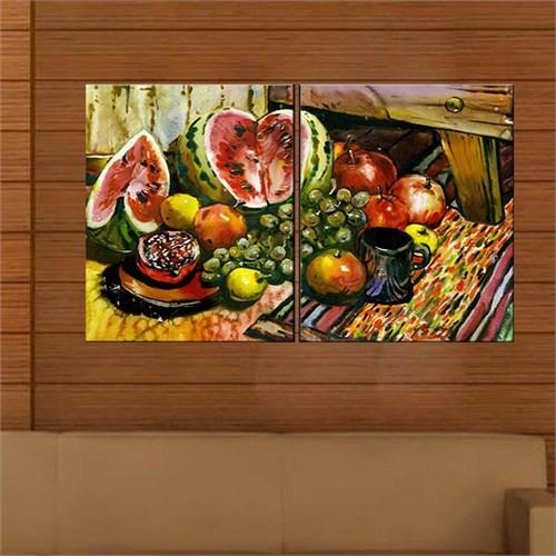 Canvastablom İ642 Meyveler Yağlıboya Kanvas Tablo