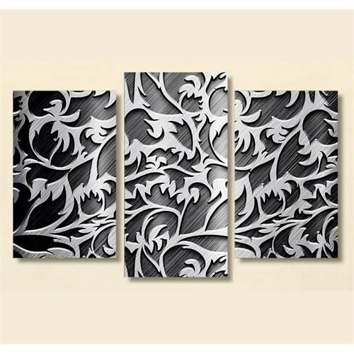 Tictac 3 Parça Kanvas Tablo - Dekoratif