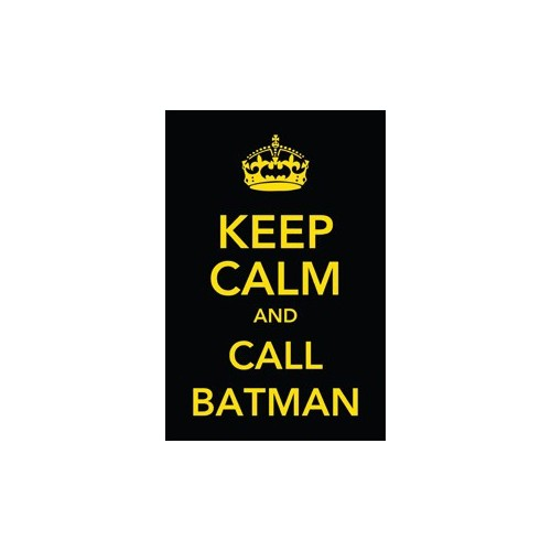 Urbangiftkeep Calm And Call Batman Photo Magnet 6*9Cm