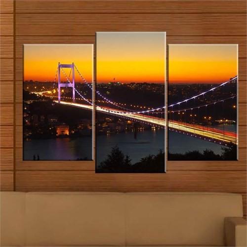 Canvastablom Ü203 Boğaziçi Köprüsü Parçalı Tablo