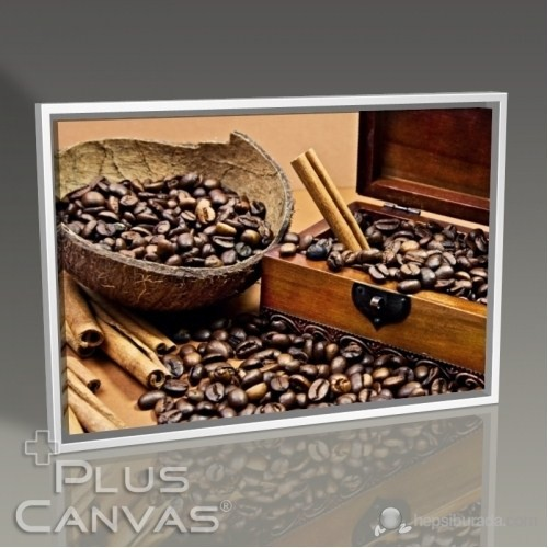 Pluscanvas - Coffee Beans Tablo