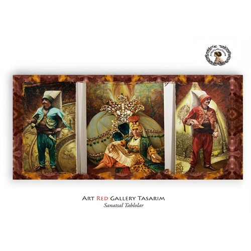 Artred Gallery Kamil Aslanger İmzalı Tablo 100X50