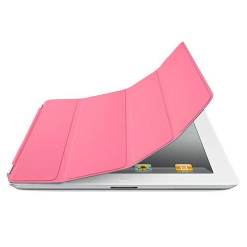 Microsonic Magnetic New iPad & iPad2 Pembe Smart Cover Kılıf