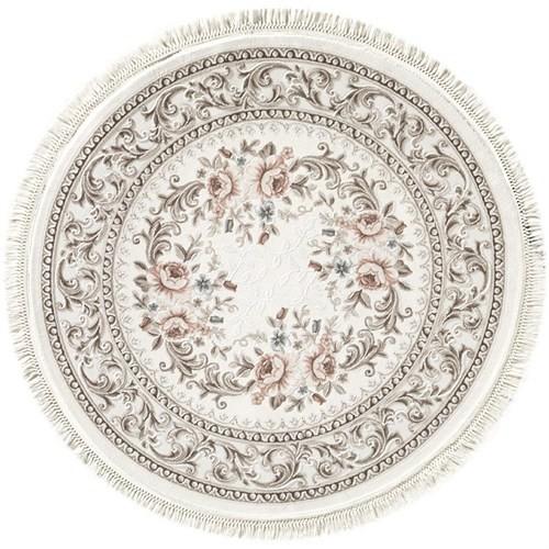 Padişah Tibet Simya Modern Halı Saçaklı Round 150X150 150X150 Cm
